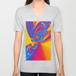 Pop Art Abstract Unisex V-Neck