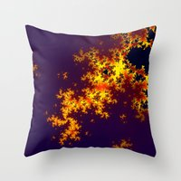europe Throw Pillows featuring europe by donphil