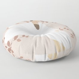 Soft Summer Breeze II Floor Pillow