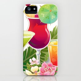Topical Drinks2 iPhone Case