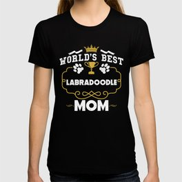 World's Best Labradoodle Mom T-shirt