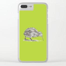 Kiwi Bird Clear iPhone Case