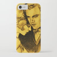 fitzgerald iPhone & iPod Cases featuring The Great Gatsby by Ilaria De Rosa