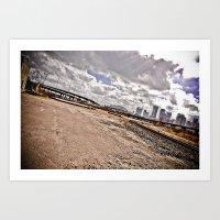 houston Art Prints featuring Houston by Amy Harbin