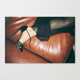 Red Soul  Canvas Print