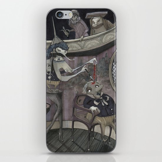 The Stone of Folly iPhone & iPod Skin