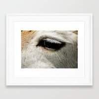 lama Framed Art Prints featuring Lama by Design Windmill