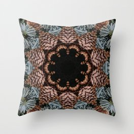 Cones and needles! Throw Pillow