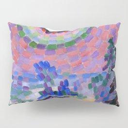 """Robert Delaunay """"Paysage au disque solaire"""" Pillow Sham"""