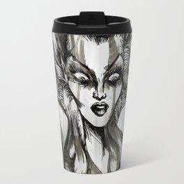 Out Of The Ashes She Raises Travel Mug