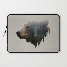 The Pacific Northwest Black Bear Laptop Sleeve