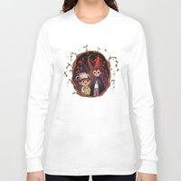 over the garden wall Long Sleeve T-shirts featuring Over the garden wall by Willow