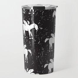 Pegasus Block Print Travel Mug