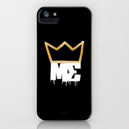 Modesty's End - Wht Crwn iPhone Case
