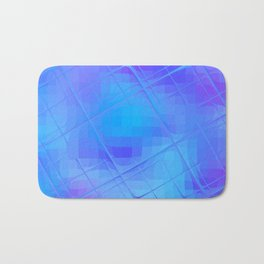Re-Created Twisted SQ XL by Robert S. Lee Bath Mat