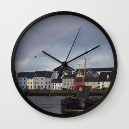 Galway Rainbow Wall Clock