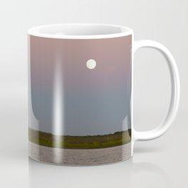 Romantic Galveston Beach Strawberry Full Moon Coffee Mug