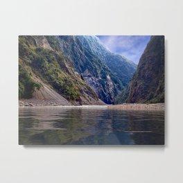 Manas River - Bhutan Metal Print