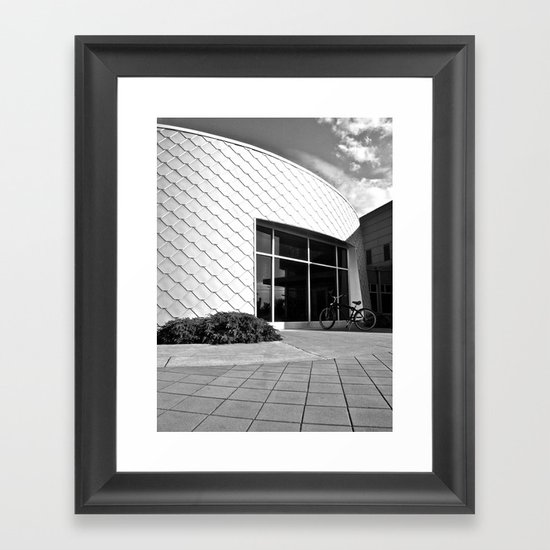 Space Age architecture Framed Art Print
