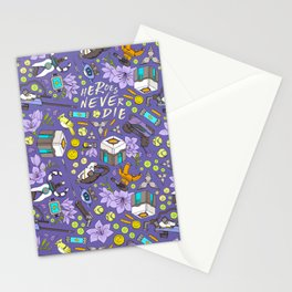 Heroes Never Die Stationery Cards