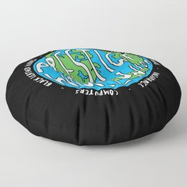 Prestige Worldwide Enterprise, The First Word In Entertainment, Step Brothers Original Design for Wa Floor Pillow