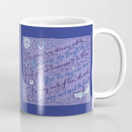 The Walrus and the Carpenter, Stanza 2 Coffee Mug