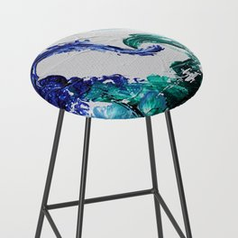 Mini Series [Musical Waves - Oceanic] Bar Stool