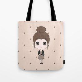 Virgo Girl Tote Bag