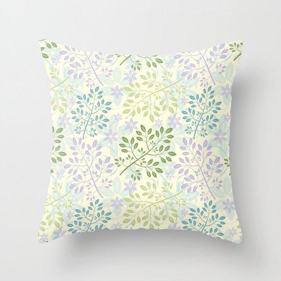 Les Femmes Throw Pillow