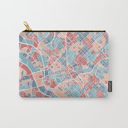 Dallas map Carry-All Pouch