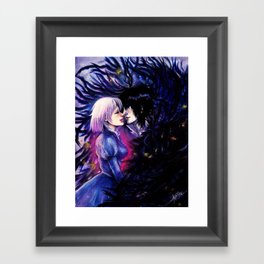 Heart Eater Framed Art Print