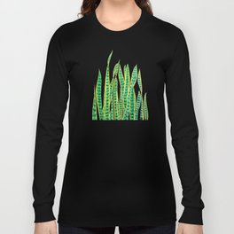snake plant Long Sleeve T-shirt