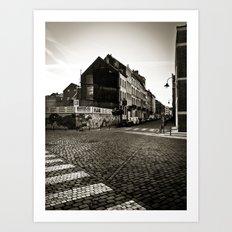 City Photography, Urban Fine Art Photography, Brussels, Bruxelles, Belgium, Belgique, Urban Poetry Art Print
