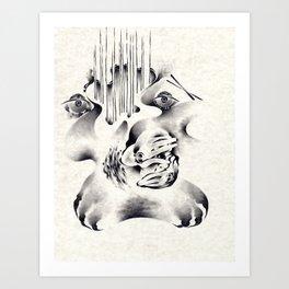 Selective Hearing Art Print