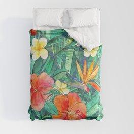 Classic Tropical Garden Comforters