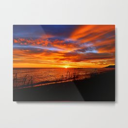 Spectacular Sunrise on the Saint-Lawrence Metal Print