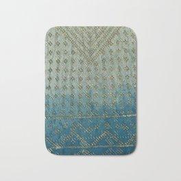 Faded Indigo Assuit Bath Mat