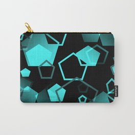 pentagon pattern - seamless Carry-All Pouch