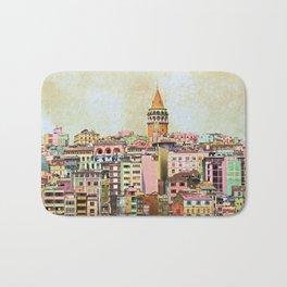Istanbul city Turkey Bath Mat