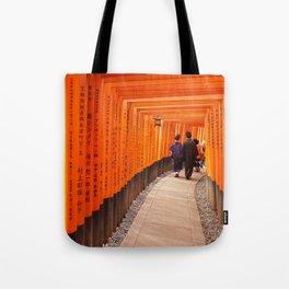 Kyoto, Pray, Love Tote Bag
