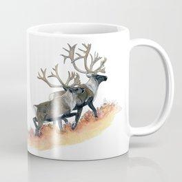 Barren-ground caribou in the tundra Coffee Mug