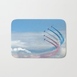 the red arrows Bath Mat