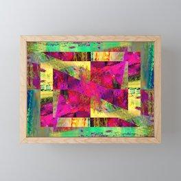 Meandros Framed Mini Art Print