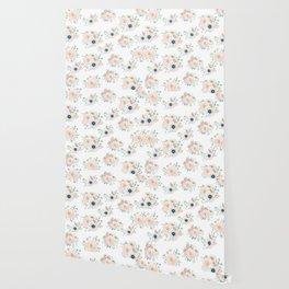 Dog Rose Pattern 2 Wallpaper