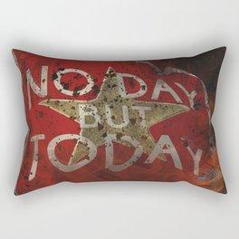 Post Apocalyptic Inspirational Quote 007 Rectangular Pillow