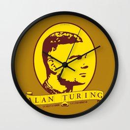 Alan Turing Wall Clock