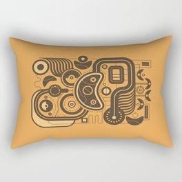 Nonsensical Doodle #3 Rectangular Pillow