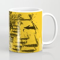 home sweet home Mugs featuring Home! Sweet Home! by nicebleed