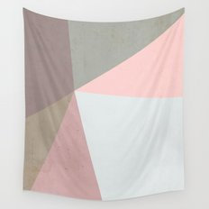 Delicate Geometry Wall Tapestry