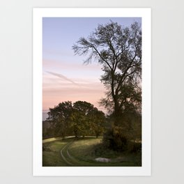 Herefordshire Art Print